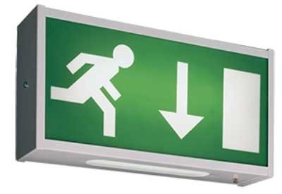 Security Light Installation Essex - Exit Signs
