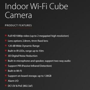 Pyronix Hikvision Cube Cam Pet 2